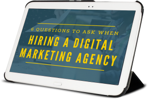 Don't interview another Marketing Agency until you read this guide! Get our top 6 questions (and best answers) to ask when vetting a prospective agency.