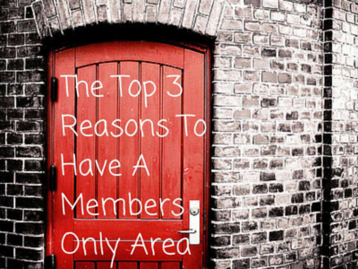 3 Reasons To Build A Members Area For Your Online Course