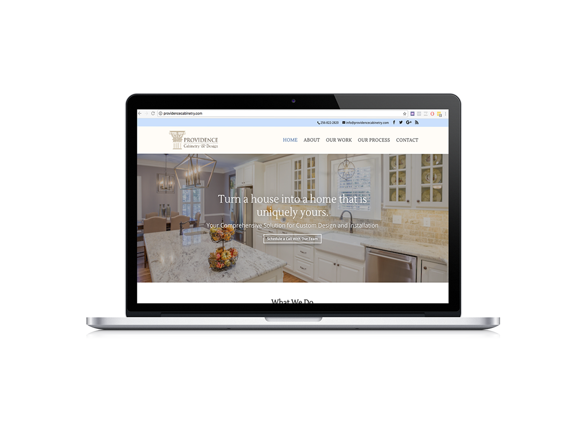 Providence Cabinetry Website